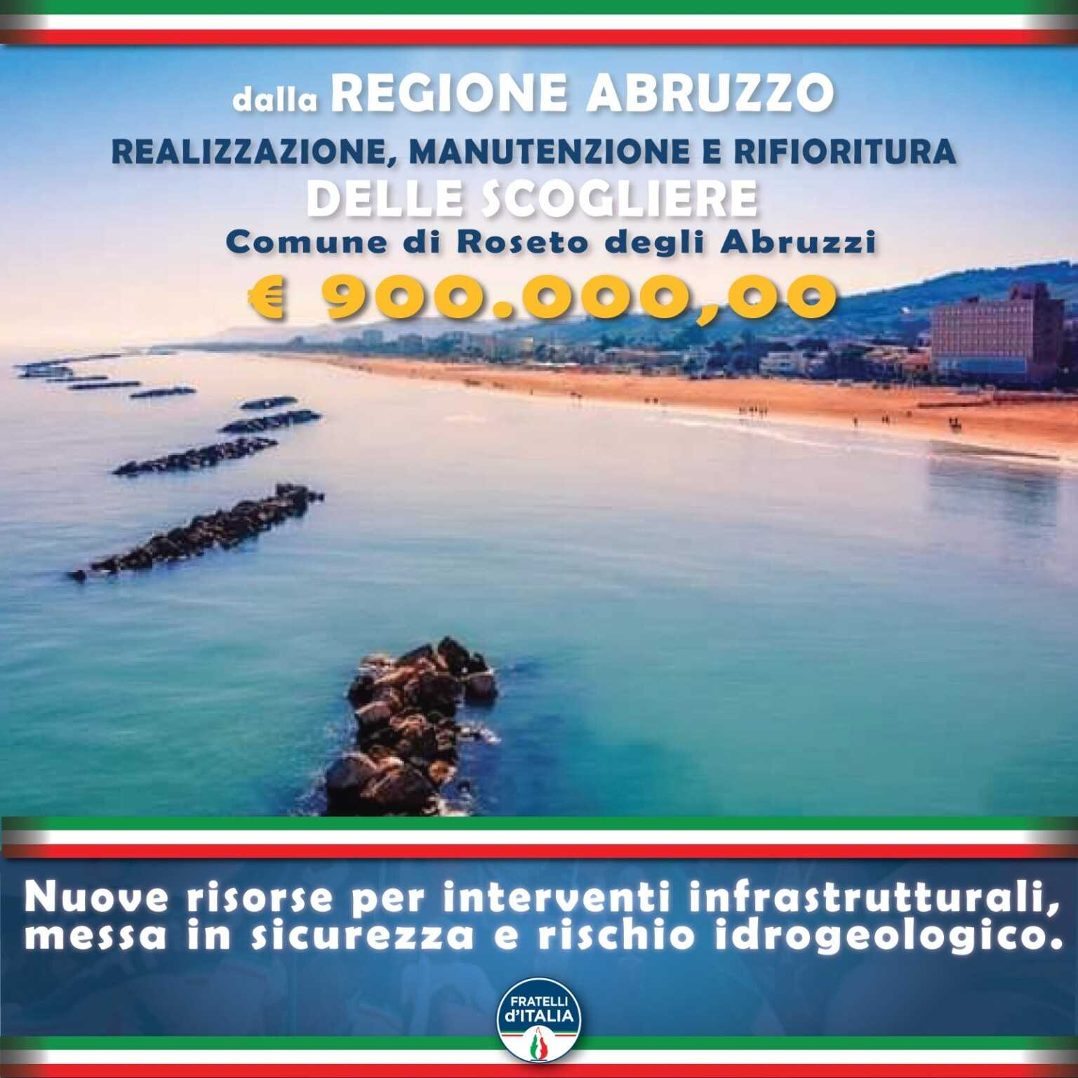 fratelli-d'italia-roseto:-a-difesa-della-costa-dalla-regione-altri-900.000-euro