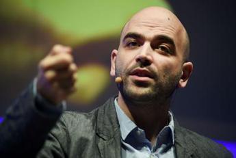 saviano-e-l'intervista-a-liberation,-ira-meloni-e-salvini