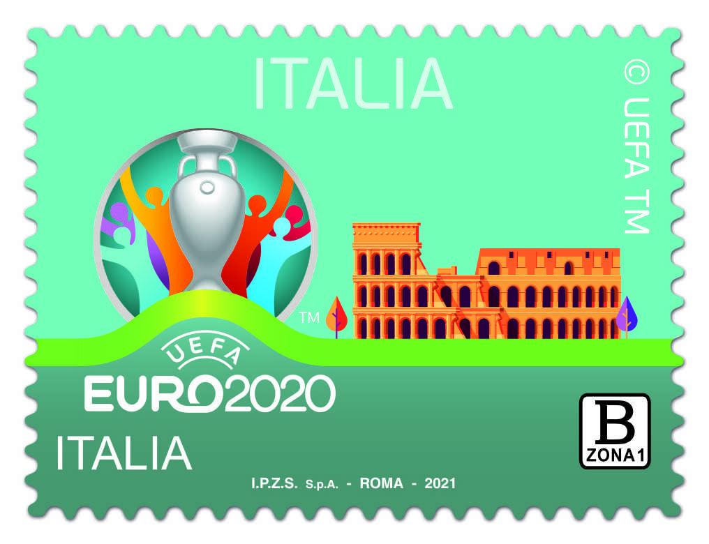 uefa-euro-2020-italia,-un-francobollo-per-gli-europei