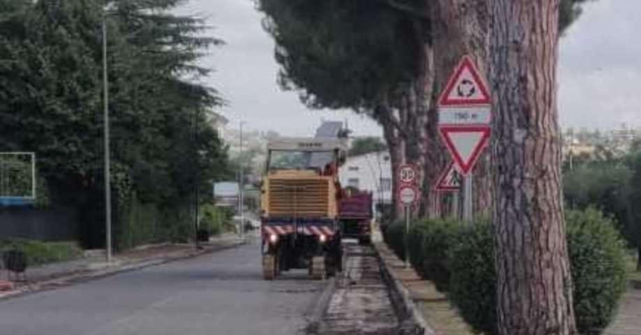 viale-dell'ospedale,-e-partitala-sistemazione-dell'asfalto