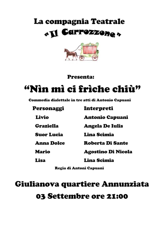 """comitato-di-quartiere-annunziata:-venerdi-3-settembre-spettacolo-teatrale-de-""""il-carrozzone"""""""
