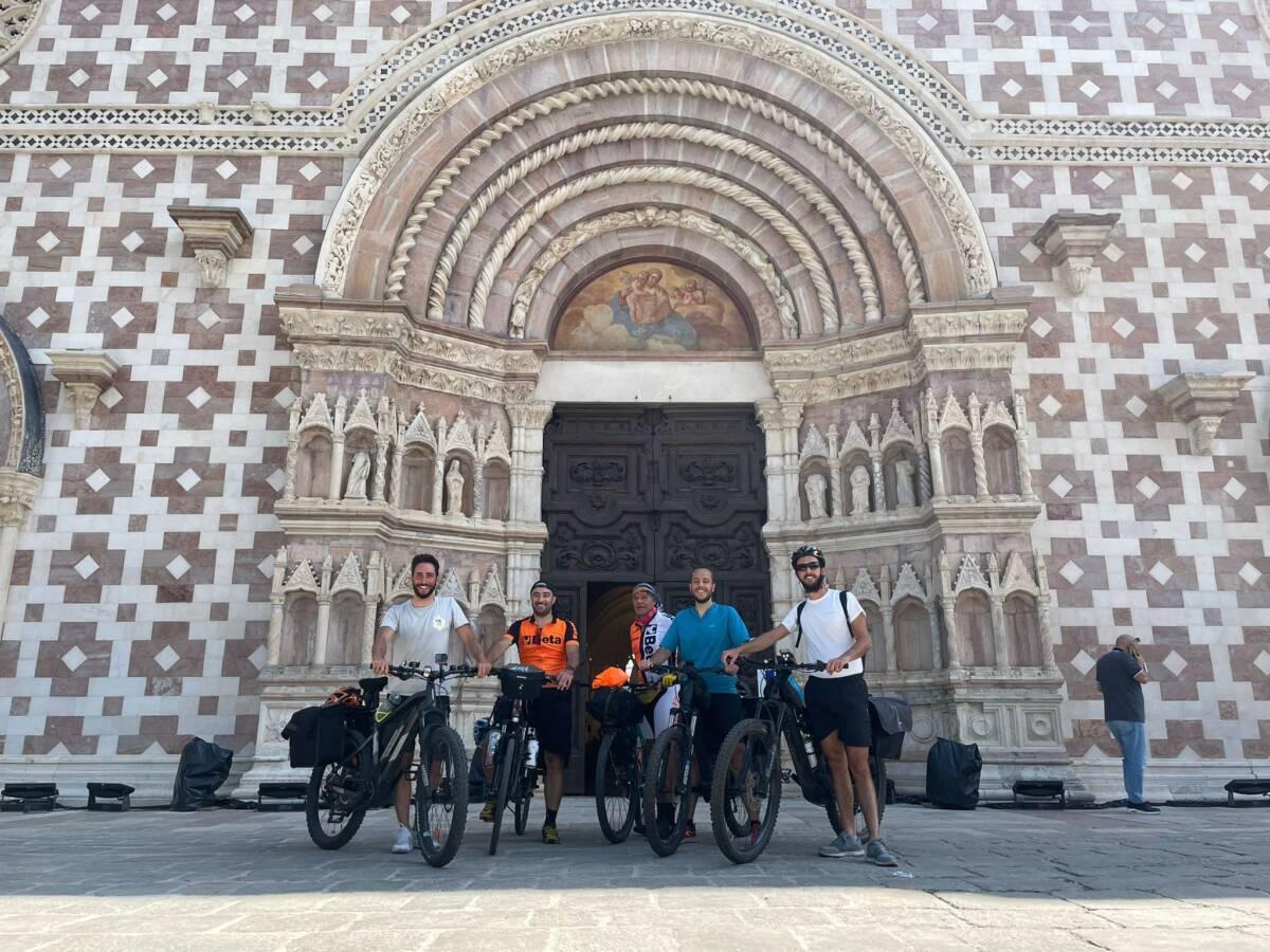 """perdonanza,-""""ride-4-creation"""":-in-bici-sui-passi-di-celestino-v-per-promuovere-l'ecologia"""