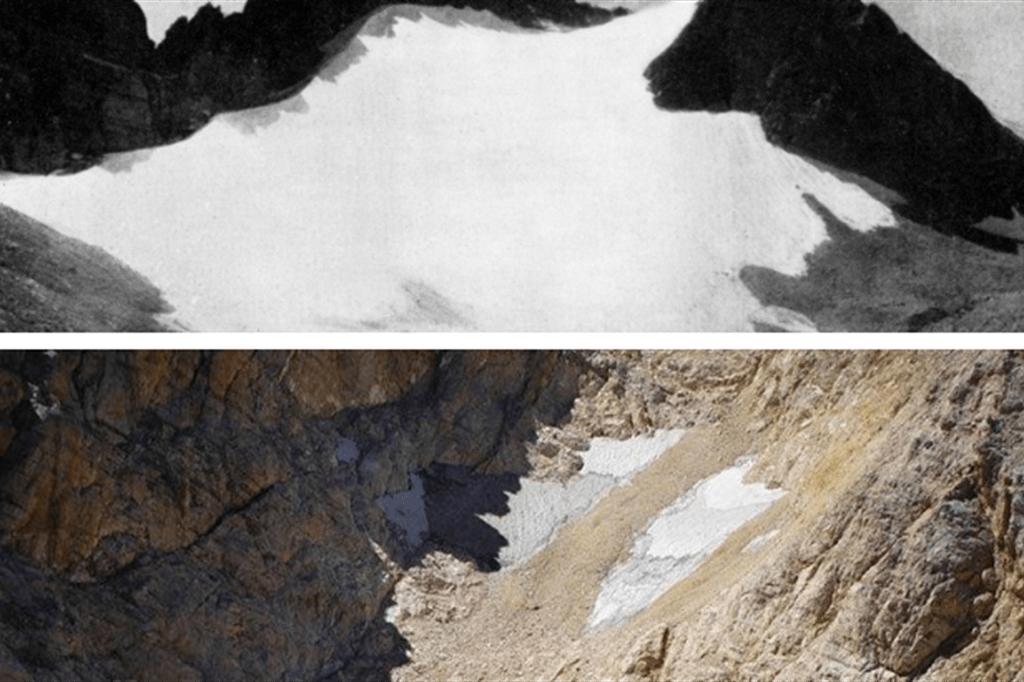 clima:-calderone-sul-gran-sasso-non-e'-piu'-un-ghiacciaio,-persa-in-25-anni-65%-superficie
