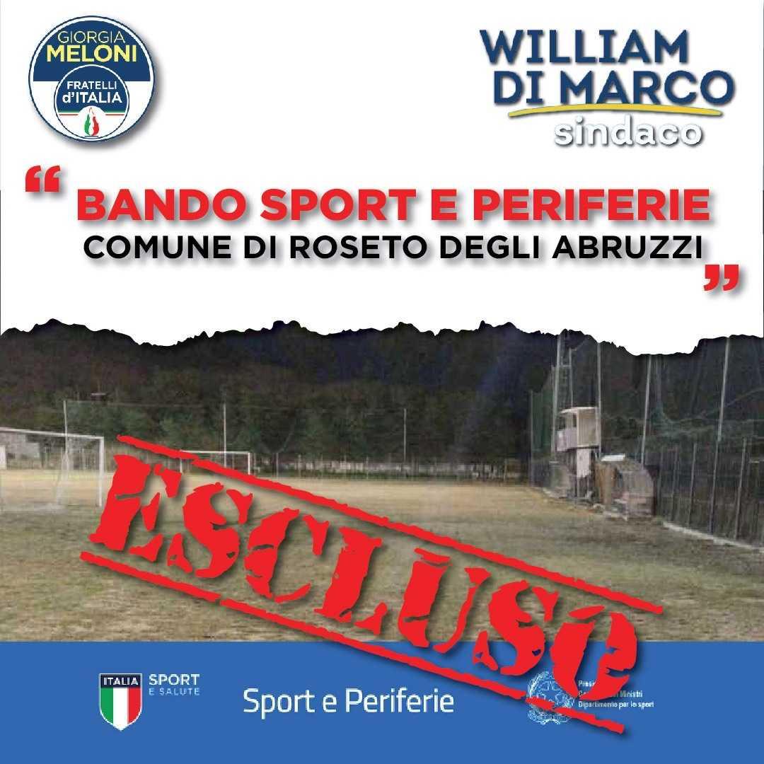 """comune-di-roseto-escluso-anche-dal-bando-""""sport-e-periferie"""":-la-denuncia-di-fratelli-d'italia"""