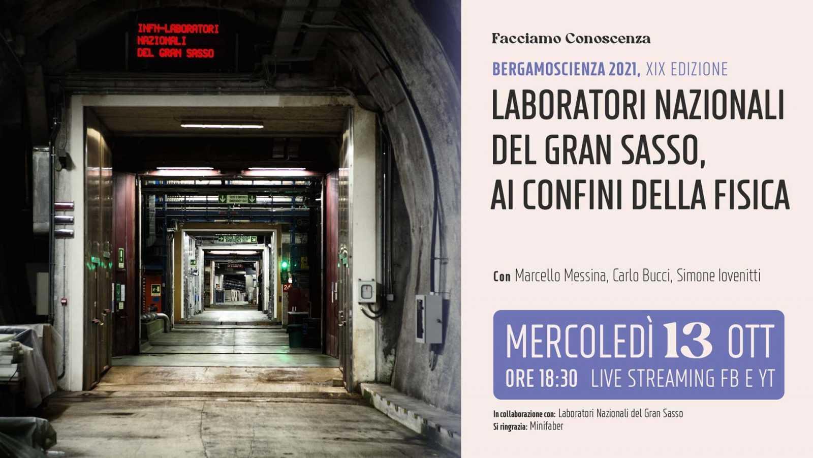 """infn,-i-laboratori-nazionali-del-gran-sasso-protagonisti-a""""bergamo-scienza"""""""