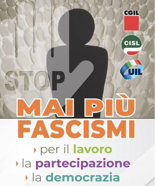 """""""mai-piu-fascismi"""",-anche-cgil,-cisl-e-uil-abruzzo-a-roma:-in-partenza-42-autobus"""